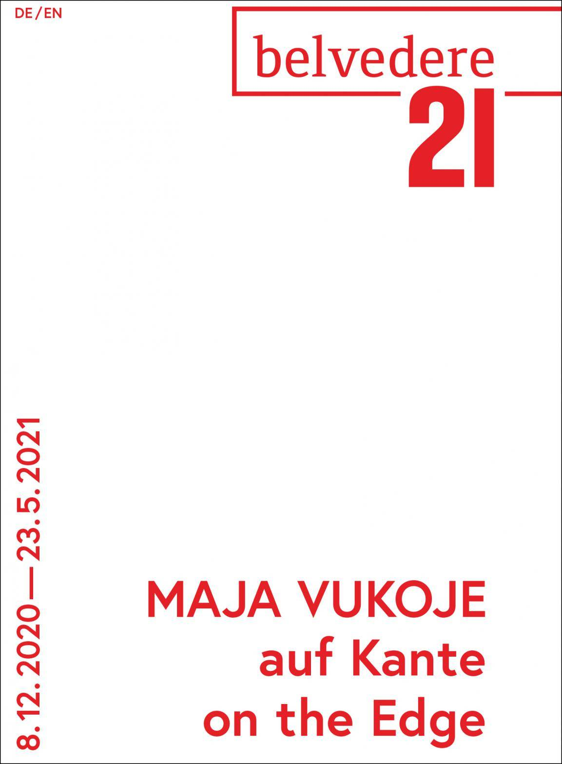 Cover Booklet Maja Vukoje